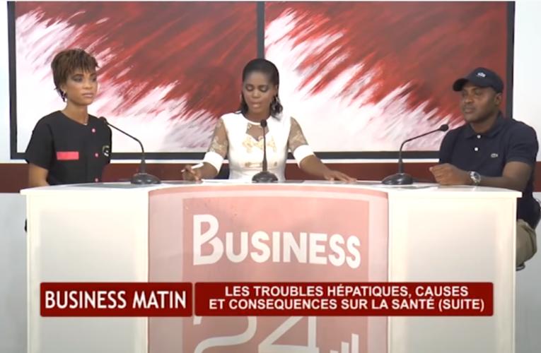 BUSINESS MATIN : TROUBLES HEPATIQUE (SUITE)