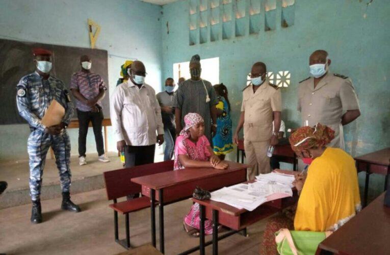 GUIGLO/ Révision de la liste électorale : La cellule Civilo-militaire du département sensibilise les populations