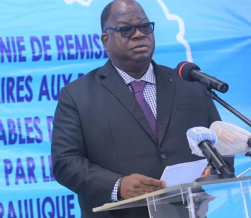 Bouaké : Le ministère de l'hydraulique dresse le bilan de ses activités