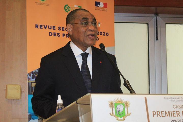 Revue sectorielle 2020 du C2D : Le Ministre Adama Coulibaly invite les acteurs à maintenir la dynamique de développement